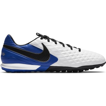 Nike Tiempo Legend 8 Pro Turf blanc bleu