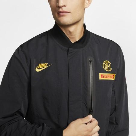 Combinaison Inter Milan noir jaune 2020/21