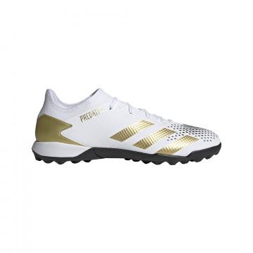 adidas Predator 20.3 Turf blanc or