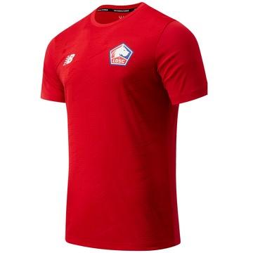 Maillot avant match LOSC rouge 2020/21