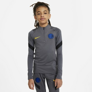 Sweat zippé junior Inter Milan gris 2020/21