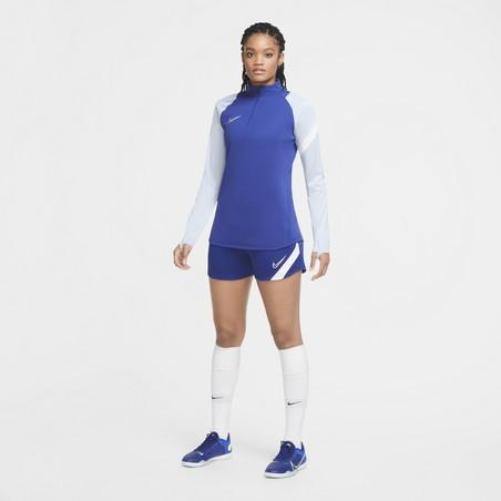 Sweat zippé Femme Nike bleu