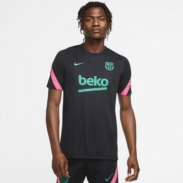 Maillot entraînement FC Barcelone noir rose 2020/21