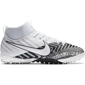 Nike Mercurial Superfly VII junior Academy Turf blanc noir