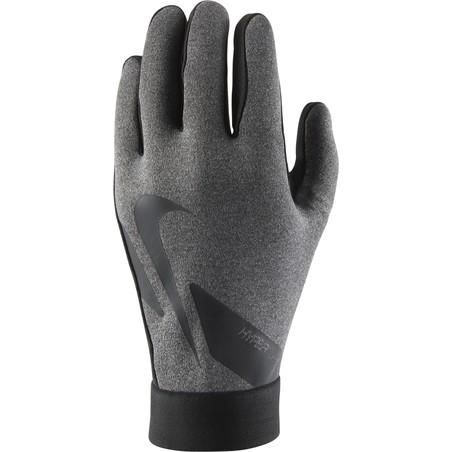 Gants joueur Nike Hyperwarm gris noir