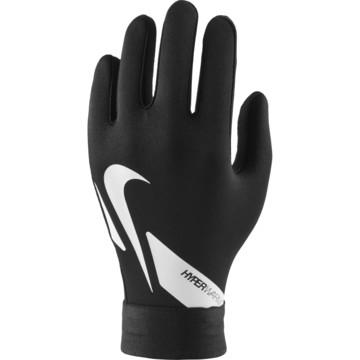 Gants joueur junior Nike Academy Hyperwarm noir blanc