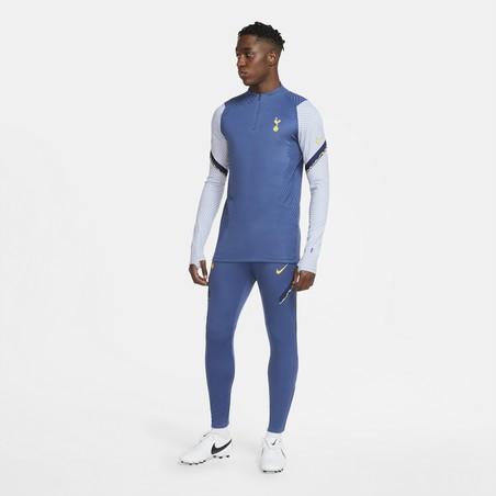Pantalon survêtement Tottenham VaporKnit bleu jaune 2020/21