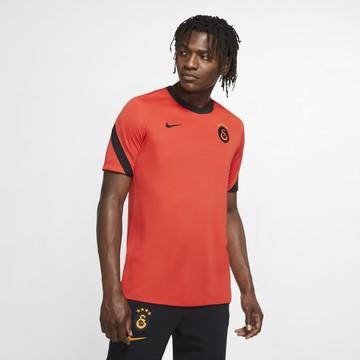 Maillot entraînement Galatasaray orange noir 2020/21