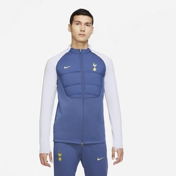 Veste survêtement Tottenham ThermaPad bleu jaune 2020/21
