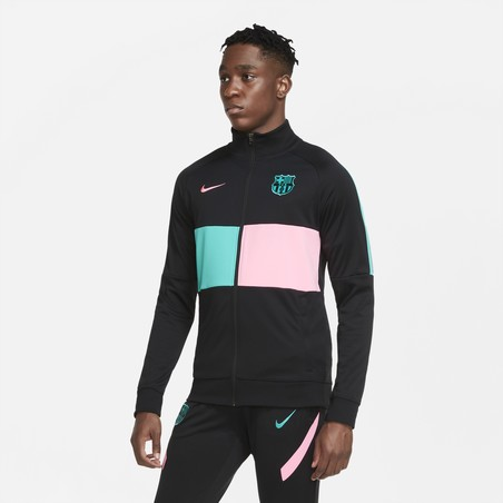 Pantalon survêtement FC Barcelone Strike noir rose 2020/21