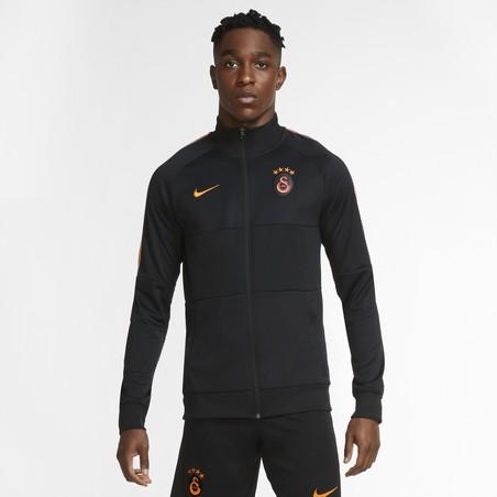 Veste survêtement Galatasaray Anthem noir orange 2020/21