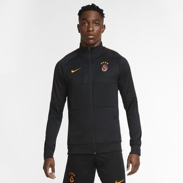 Veste survêtement Galatasaray Anthem noir orange 2020/21