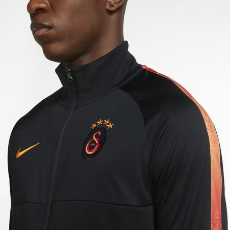 Veste survêtement Galatasaray Anthem noir orange 2020/21r