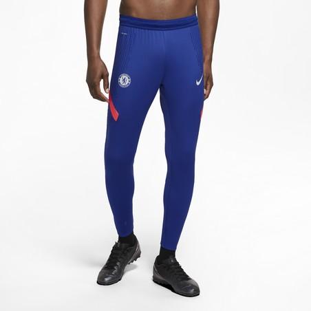 Pantalon survêtement Chelsea VaporKnit bleu orange 2020/21