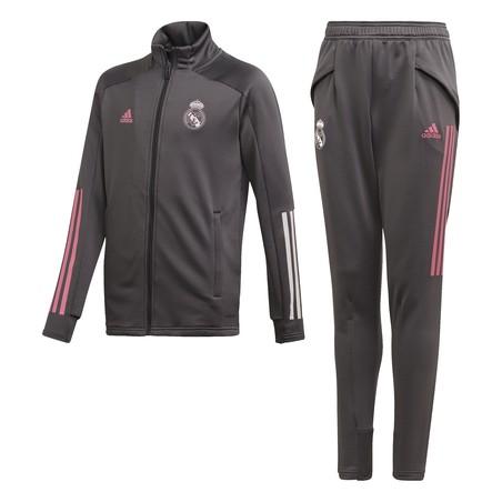 Ensemble survêtement junior Real Madrid gris rose 2020/21