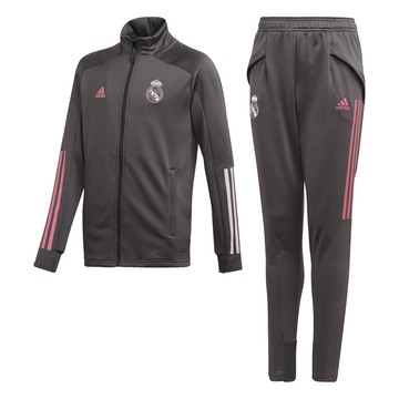 Ensemble survêtement junior Real Madrid gris rose 2020/21