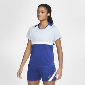 Maillot entraînement Femme Nike bleu