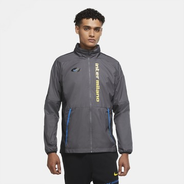 Veste imperméable Inter Milan gris 2020/21