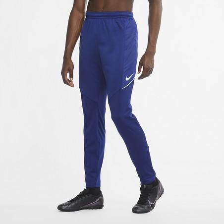 Pantalon survêtement Nike Strike bleu blanc