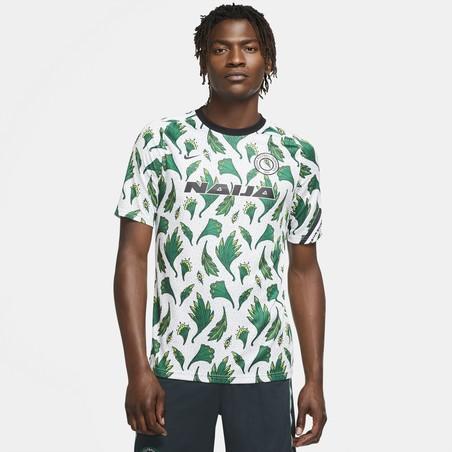 Maillot avant match Nigéria vert blanc 2020/21