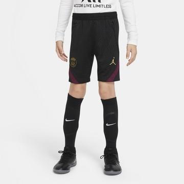 Short entraînement junior PSG noir violet 2020/21