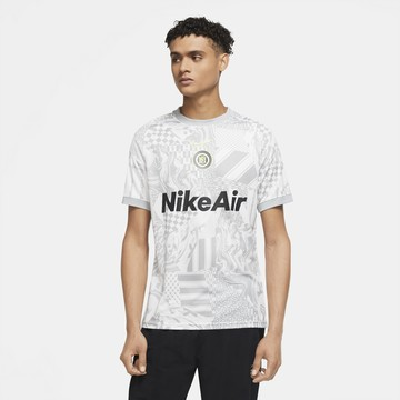 Maillot entraînement Nike F.C. gris