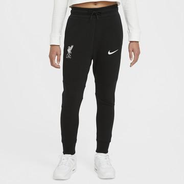 Pantalon survêtement junior Liverpool TechFleece noir 2020/21