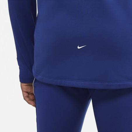 Veste survêtement Nike Strike Therma bleu