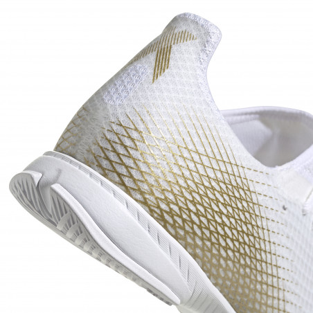 adidas X GHOSTED.3 Indoor blanc or