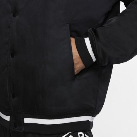 Veste bomber PSG Jordan noir 2020/21