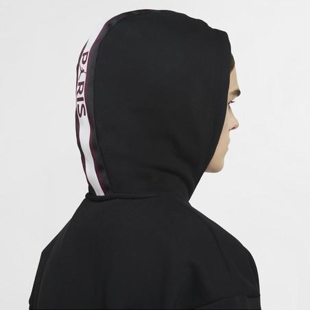 Sweat à capuche PSG x Jordan noir 2020/21