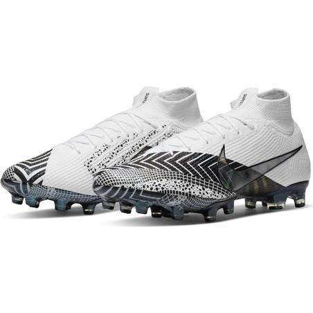 Nike Mercurial VII Elite AG-Pro blanc noir