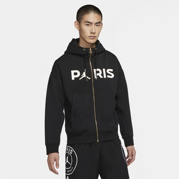 Veste à capuche PSG Jordan noir 2020/21
