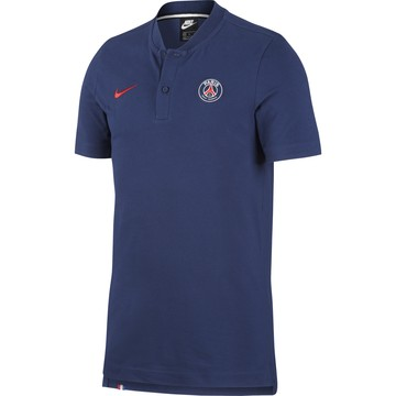 Polo PSG authentique bleu 2020/21