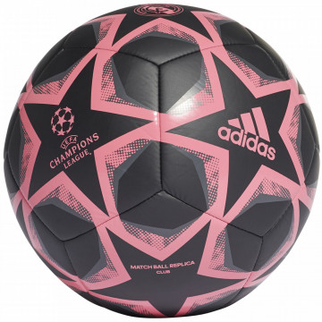 Ballon Real Madrid Ligue des Champions noir rose 2020/21