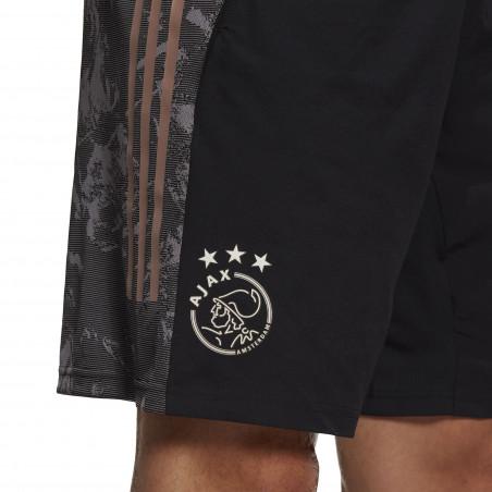 Short entraînement Europe Ajax Amsterdam noir or 2020/21