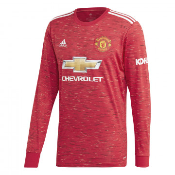Maillot manches longues Manchester United domicile 2020/21
