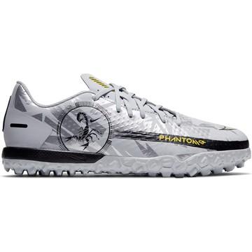 Nike Phantom GT junior Academy Turf gris jaune
