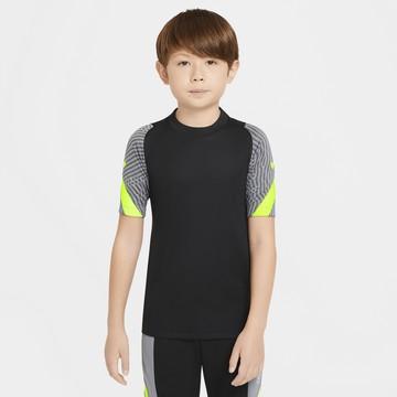 Maillot entraînement junior Nike Strike noir jaune