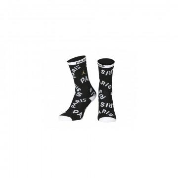 Chaussettes bébé PSG Jordan noir blanc 2020/21