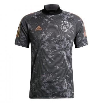 Maillot entraînement Ajax Amsterdam gris or 2020/21
