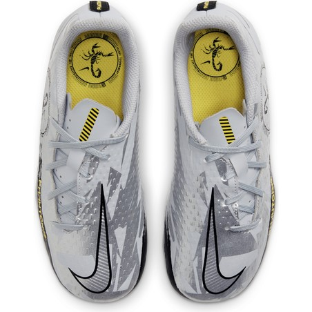 Nike Phantom GT junior Academy FG/MG basse gris jaune