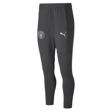Pantalon survêtement Manchester City gris rose 2020/21