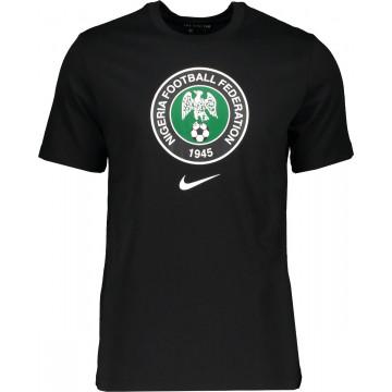 T-shirt Nigéria noir vert 2020