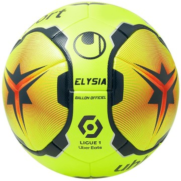 Ballon Ligue 1 Elysia Officiel jaune