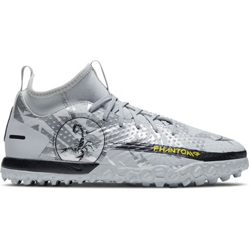 Nike Phantom GT junior Academy Turf gris jaune
