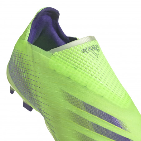 adidas X junior Ghosted + FG vert violet