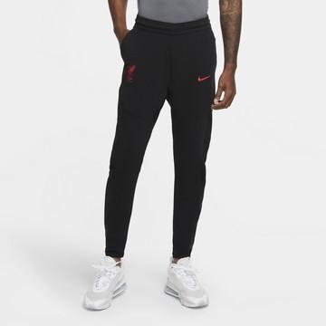 Pantalon survêtement Liverpool TechFleece noir rouge 2020/21