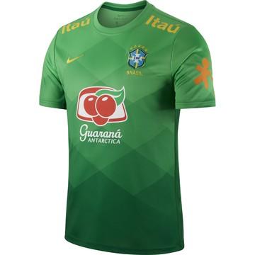 Maillot avant match Brésil vert 2020