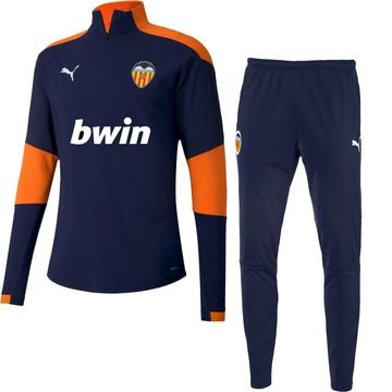 Ensemble survêtement Valence bleu orange 2020/21
